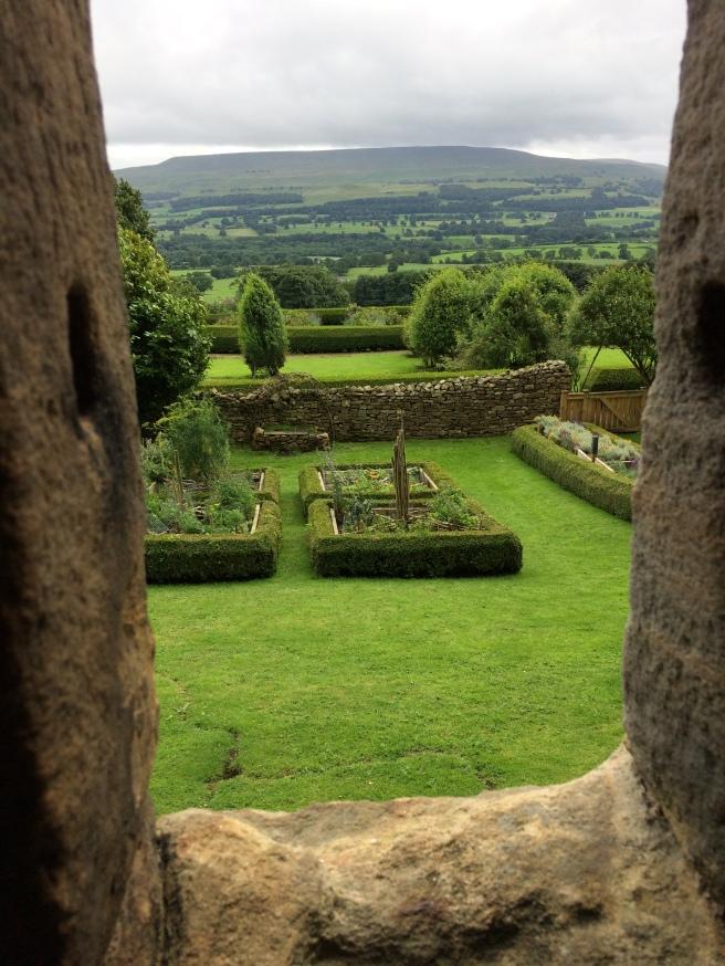Bolton Castle gardens