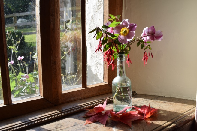 Autumn vase